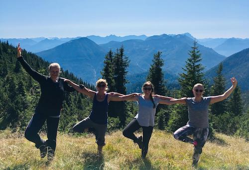Yoga Hiking1